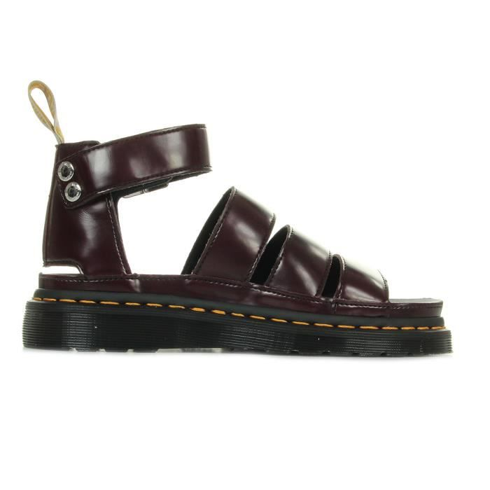 Sandales Dr Martens V Clarissa II Cherry Red Cambridge Brush