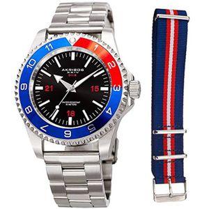 MONTRE Montre Bracelet JRW2B montre de plongeur en acier