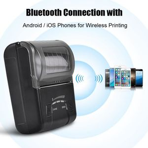 IMPRIMANTE Mini USB Bluetooth Imprimante de reçus thermiques