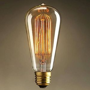 AMPOULE - LED Ampoule Antique Retro Vintage E27 40W 220V Edison