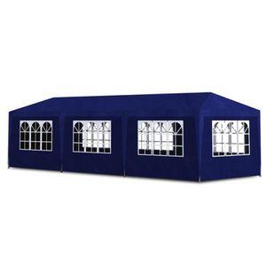 TONNELLE - BARNUM Tonnelle de réception bleu 3 X 9 m