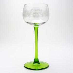 Verre à vin 6 Verres à Vin d'Alsace motif MAÏDALÄ coeurs