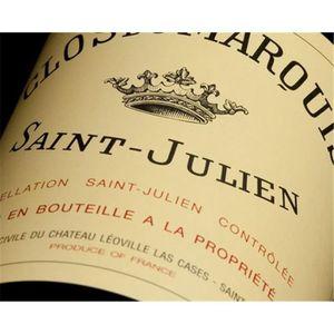 VIN ROUGE Clos du Marquis - Saint-Julien 2016 6 x Bouteille
