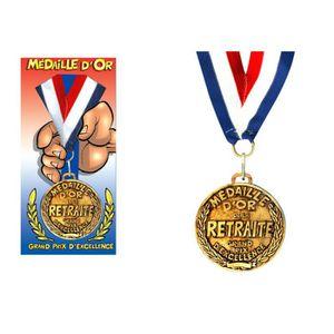 BÂTON - ÉPÉE - BAGUETTE Médaille d'or de la retraite