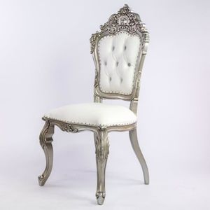CHAISE Chaise mariage blanche
