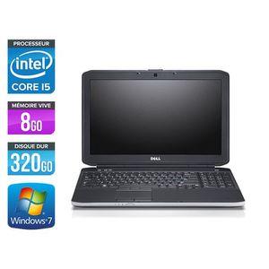 ORDINATEUR PORTABLE Pc portable Dell E5530 - i5 3320M - 8Go - 320Go -