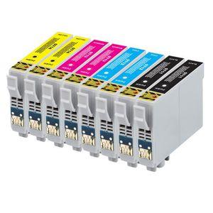 CARTOUCHE IMPRIMANTE 8 encre cartouches pour Epson DX4400 DX4450 DX7400