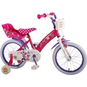 VÉLO ENFANT Vélo Enfant Fille Disney Minnie Mouse 12 à 16 Pouc