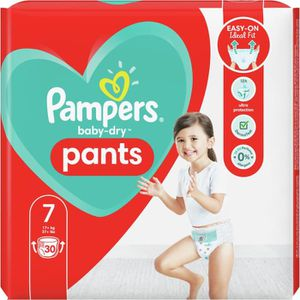 COUCHE Pampers Baby-Dry Pants Couches-Culottes Taille7,