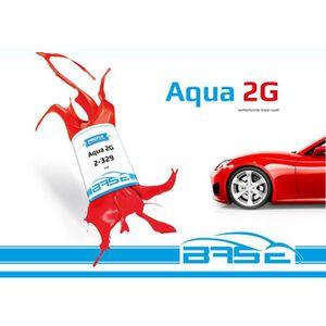 PEINTURE AUTO Base hydro à vernir 750ml RAL 8022 SCHWARZBRAUN -