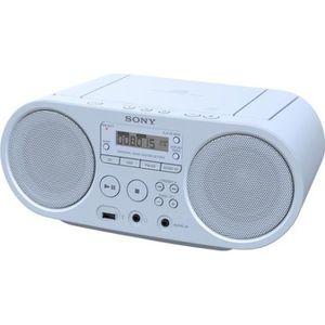 RADIO CD CASSETTE Radio CD SONY ZS-PS50 Bleu