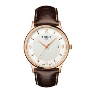 MONTRE Tissot Rose Dream - Montre homme - Bracelet cuir m
