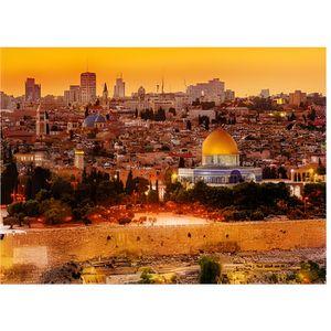 PUZZLE Puzzle 3000 pièces : Les toits de Jérusalem