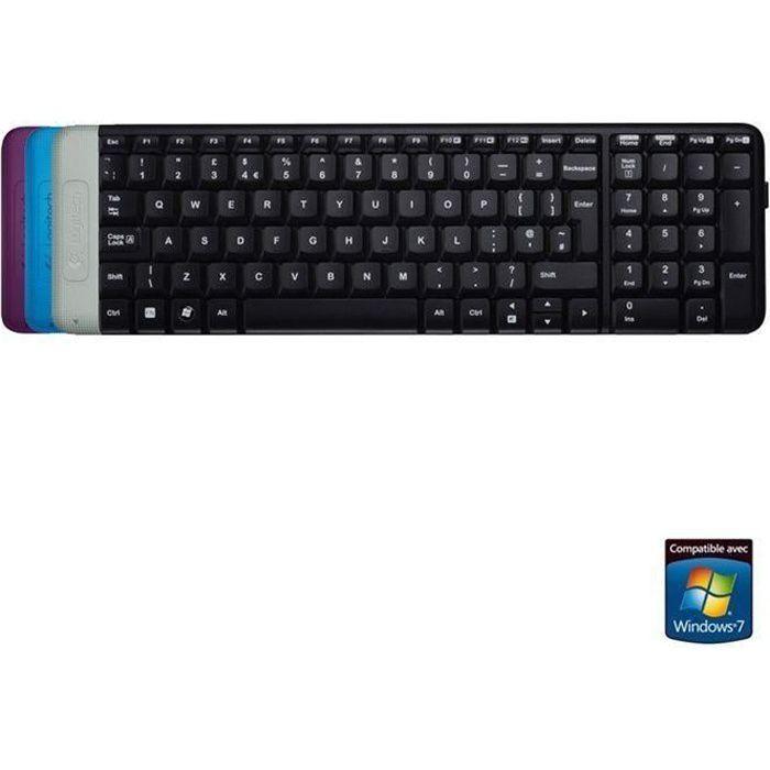 CLAVIER D'ORDINATEUR LOGITECH clavier sans fil - K230