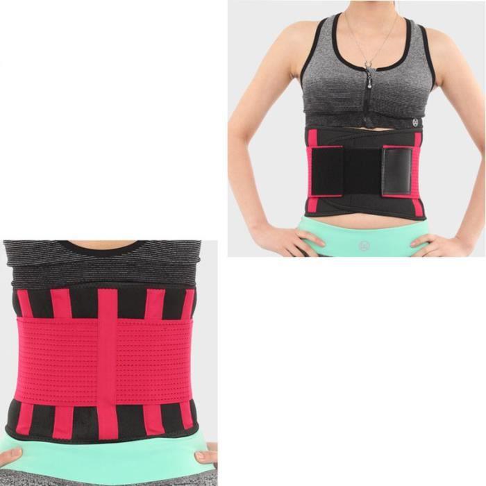 DoringIN-Ceinture de Force,Ceinture corset,100*23cm Rose1-Ceinture lombaire, soutien dorsal inférieur Ceinture-Pour Fitness Sports
