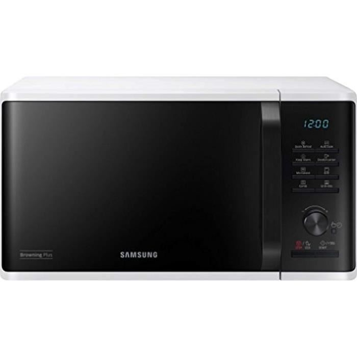 Samsung mg23 K3 515aw/EG Micro-onde/48,9 cm/Quick Defrost/27 programmes automatiques