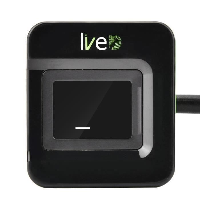 Système d'assistance contrôle d'accès biométrique lecteur d'empreintes digitales scanner USB