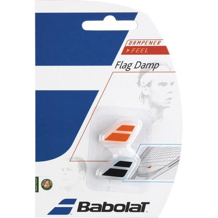Antivibrateur BABOLAT Flag Damp Orange / Noir