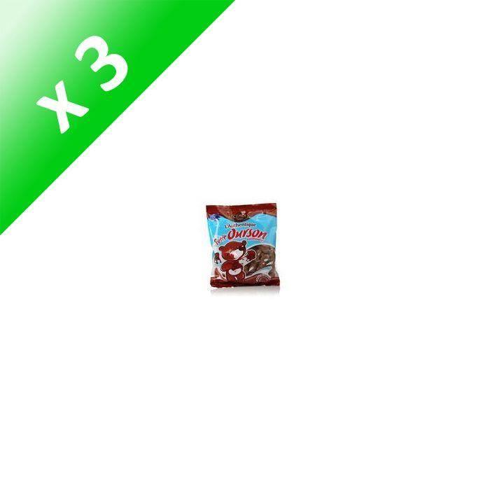 CEMOI Guimauves chocolatées Petit Ourson - 180 g (Lot de 3)