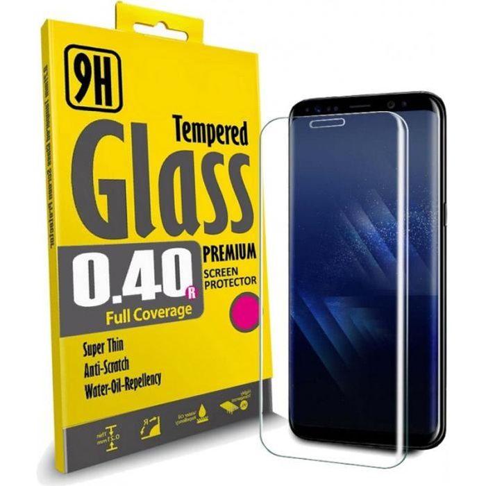 PACK DE 3 Film Protection Ecran en VERRE Trempé pour Samsung Galaxy S9 protecteur d'écran INVISIBLE & INRAYABLE
