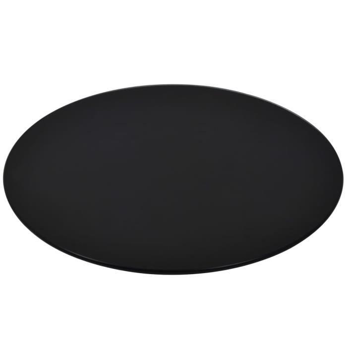 Dessus de table-Plateaux de table rond Verre trempé 600 mm