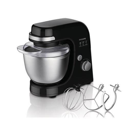 PHILIPS HR7920/91 Robot pâtissier Viva Collection - Noir
