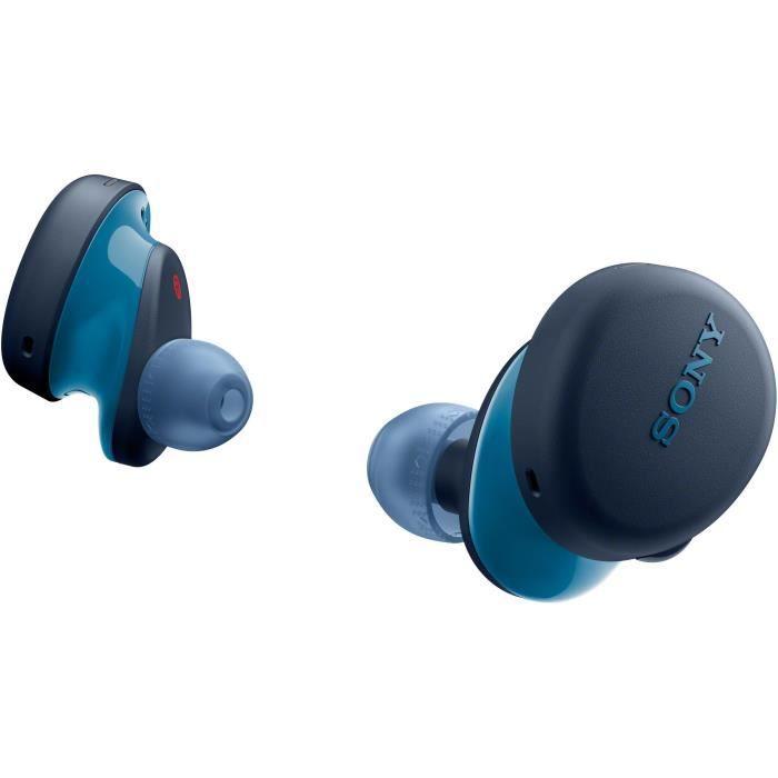 SONY WF-XB700 Ecouteurs totalement sans fil - 18 heures d'autonomie et fonction Charge rapide et compatible assistants vocaux