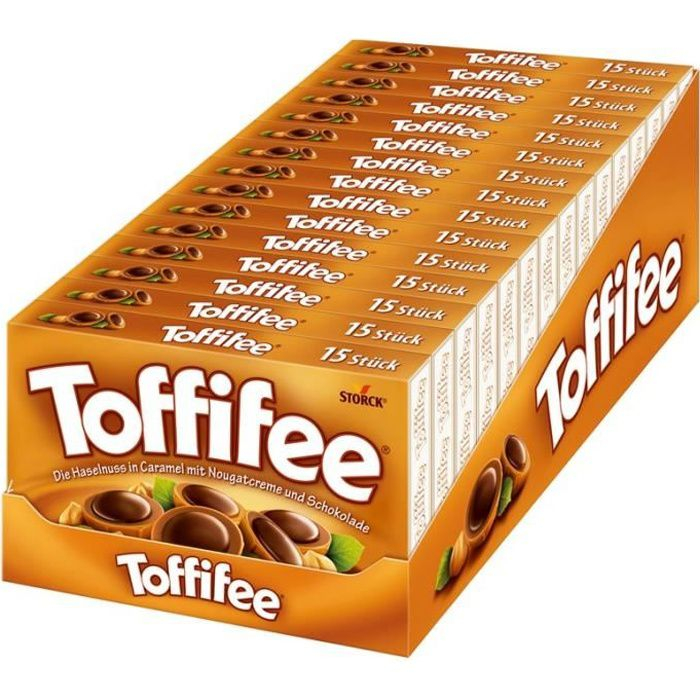 Storck Toffifee, chocolat, 15 paquets