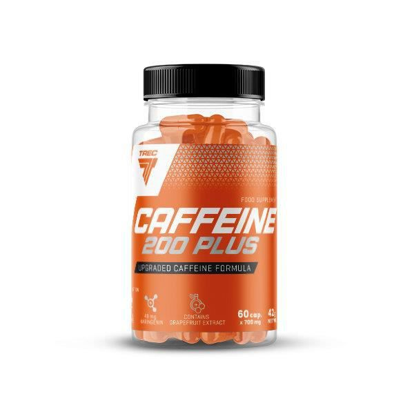 CAFFEINE 200 PLUS TREC NUTRITION 60 CAPS