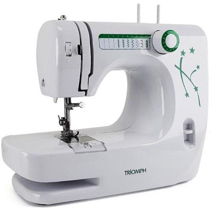 Machine à coudre domestique écologique - Double aiguilles - 10 points - 20 programmes
