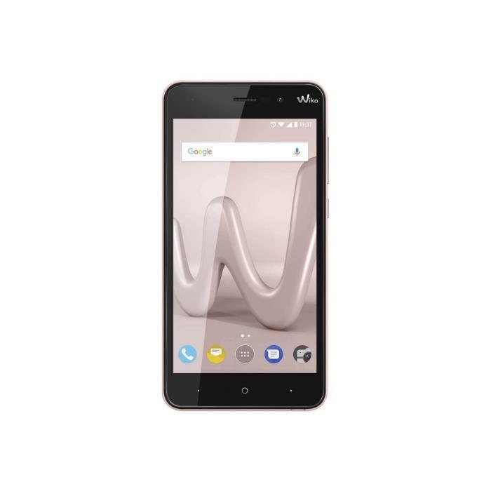 Wiko Lenny 4 Plus Smartphone double SIM 3G 16 Go microSDXC slot GSM 5.5- 1 280 x 720 pixels (267 ppi) IPS RAM 1 Go 8 MP (caméra…