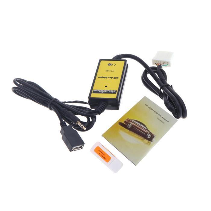 Pour de nombreux véhicules aux le radio est Bluetooth Stream interface mp3 CD Adaptateur