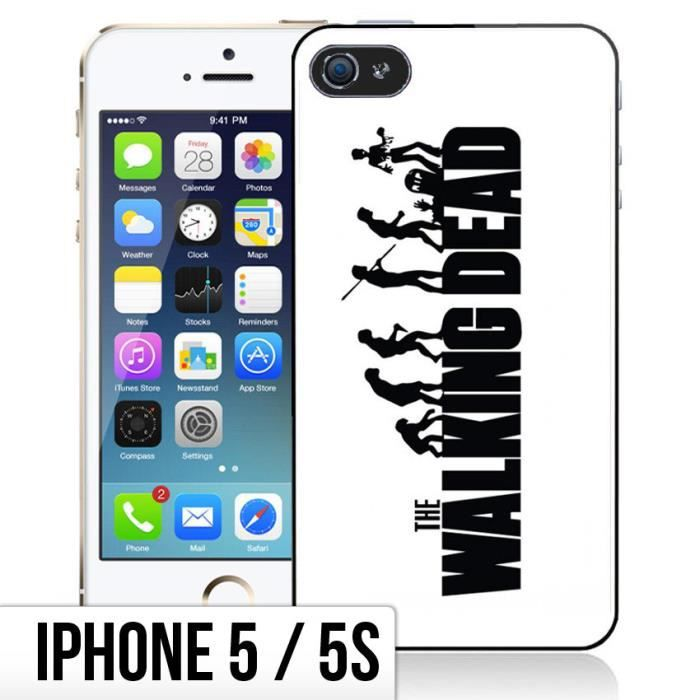 coque iphone 5 5s the walking dead evolution