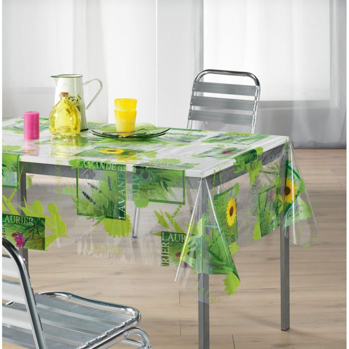 Table rabattable cuisine paris nappe transparente pour table - Nappe table exterieur ...