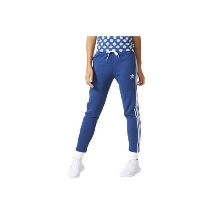 pantalon adidas femmes bleu