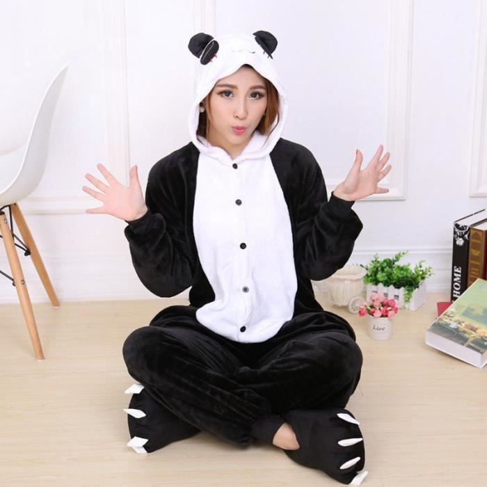 pyjama combinaison animaux femme achat vente pyjama combinaison animaux femme pas cher. Black Bedroom Furniture Sets. Home Design Ideas