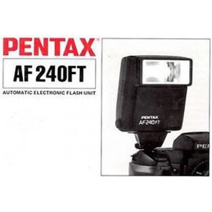 Flash pentax af240ft achat vente flash cdiscount - Ventes flash cdiscount ...