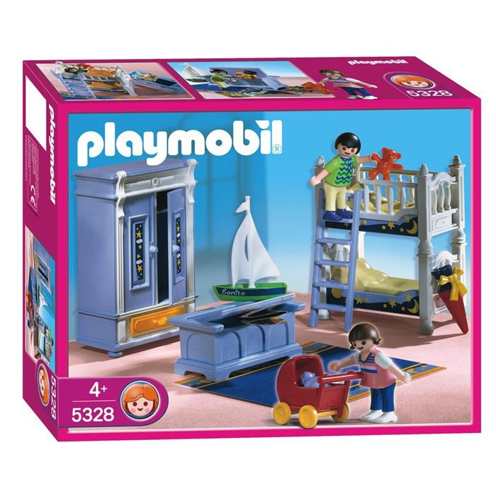 Playmobil enfants chambre traditionelle achat vente for Playmobil chambre enfant