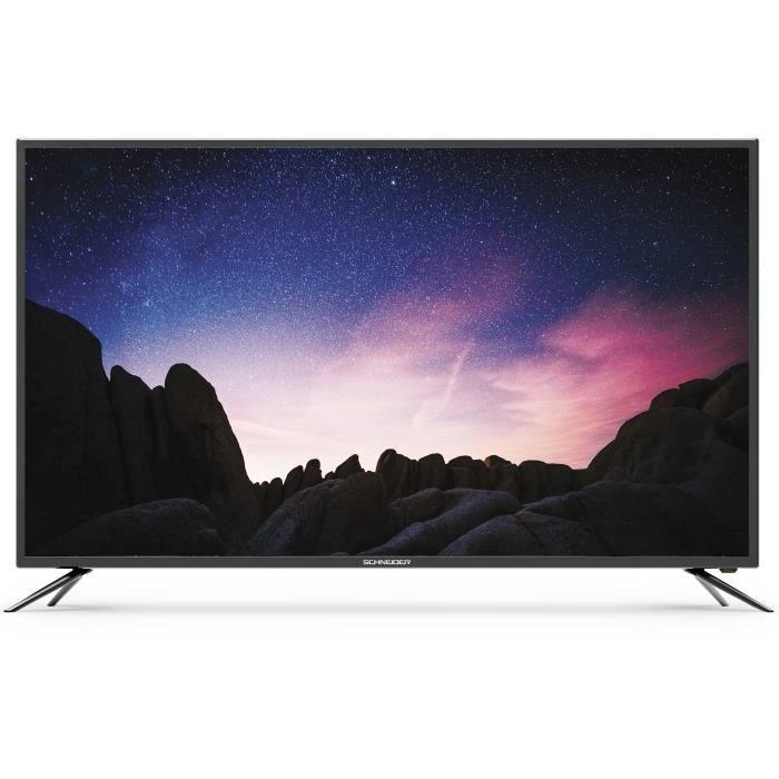 "Téléviseur LED SCHNEIDER -LED65-SC1000K TV LED 4K UHD -  65"" - Sm"