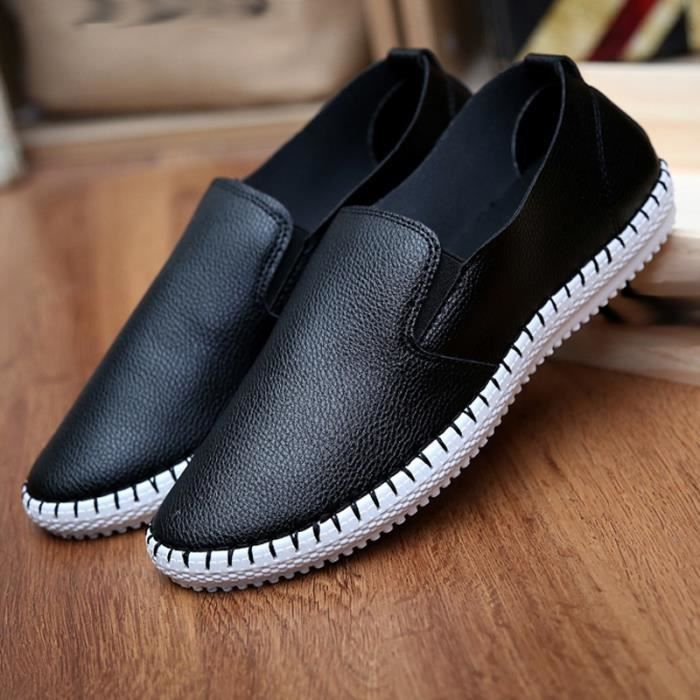 Mode homme antidérapants Mocassins d'affaires