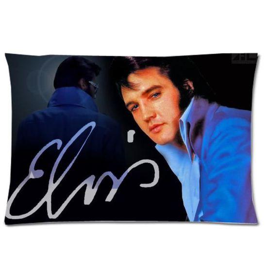 Elvis photo grand carré coussin