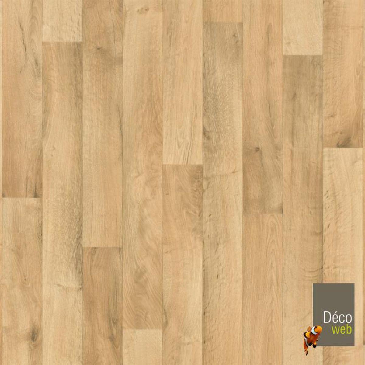 Sol Pvc Salle A Manger sol pvc best imitation parquet hêtre brun clair - 2m x 30ml