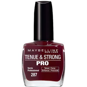 VERNIS A ONGLES GEMEY MABELLINE Vernis Tenue & Strong Pro - Rouge