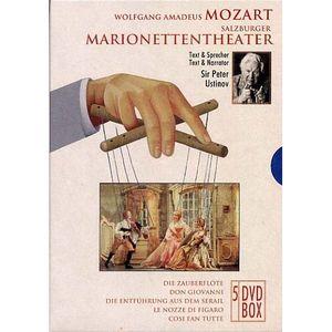 DVD MUSICAL COFFRET 5 DVD MOZART SALZBURGER MARIONETTEN THEATE
