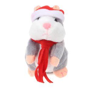 POUPÉE Peluche Parlante Hamster,Talking Hamster Répète Ce