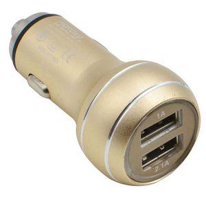 PRISE ALLUME-CIGARE Dual USB 2 ports Adaptateur allume-cigare pour iPh