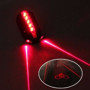 Ultrasport Vélo Éclairage Vélo Sécurité Lampe Lampe Laser DEL feu arrière
