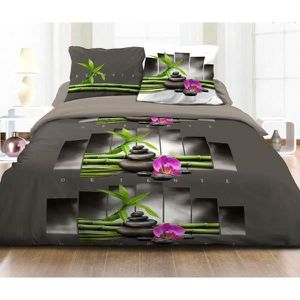 couette imprimee double face achat vente couette imprimee double face pas cher les soldes. Black Bedroom Furniture Sets. Home Design Ideas