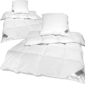 COUETTE 2x Sets de lit: 2x Couettes chaudes d'hiver 135 x