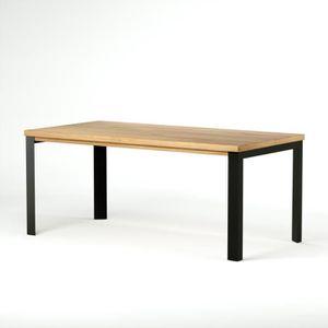 TABLE À MANGER SEULE Table à manger de 6 à 8 personnes style industriel